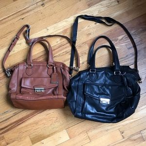 2 Cole Haan Leather bags